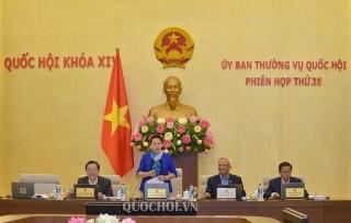 Bế mạc Phiên họp thứ 31 Ủy ban Thường vụ Quốc hội