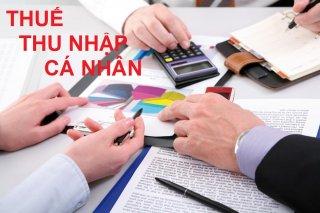 Hướng dẫn quyết toán thuế thu nhập cá nhân năm 2018