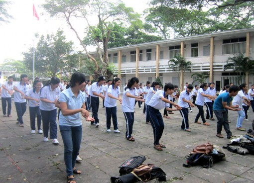 Hưởng ứng Chương trình sức khỏe Việt Nam