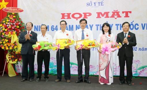 Họp mặt kỷ niệm 64 năm Ngày Thầy thuốc Việt Nam