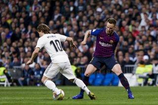 Bán kết Lượt về Cúp Nhà vua: Luis Suarez lập cú đúp bàn thắng nhấn chìm cơ hội lội ngược dòng của Real Madrid
