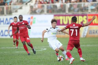 Vòng 2 V-League 2019: HAGL 1-2 TP. Hồ Chí Minh