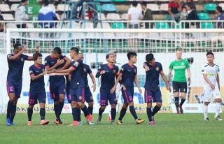 Vòng 3 V-League 2019: Sài Gòn FC thắng HAGL 3-1