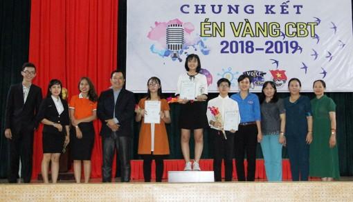 Trần Thị Kim Tuyền đạt Giải Én Vàng CBT