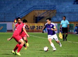 Vòng 3 V-League 2019: Hà Nội FC thắng CLB Viettel 2-0