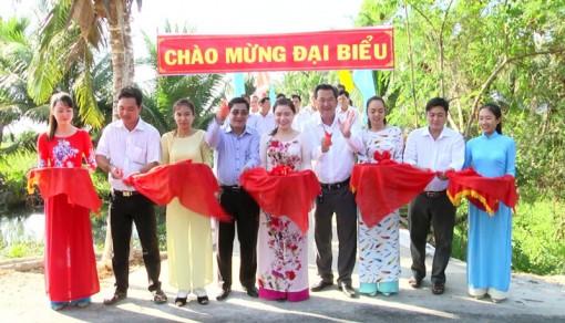 Khánh thành cầu Tổ NDTQ số 12, ấp Hồ Sen