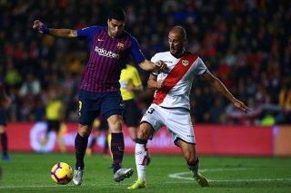 Vòng 27 La Liga: Barcelona đánh bại Rayo Vallecano 3-1