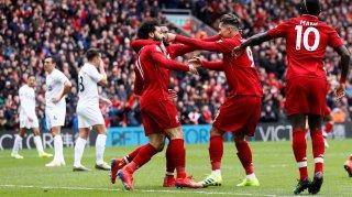 Vòng 30 Ngoại hạng Anh: Firmino và Mane  thay nhau lập cú đúp mang về 3 điểm cho Liverpool