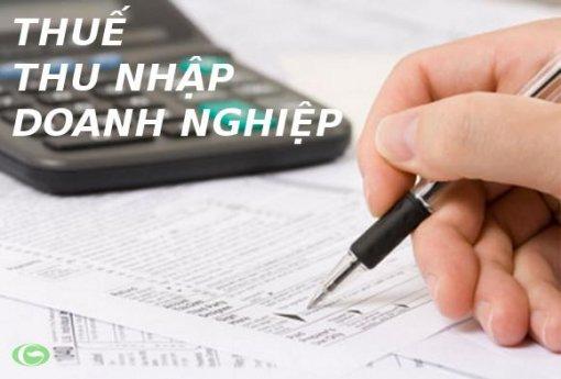 Hướng dẫn quyết toán thuế thu nhập doanh nghiệp năm 2018