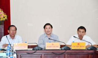 Bàn phương án đầu tư Dự án xây dựng cầu Rạch Miễu 2 nối Tiền Giang - Bến Tre