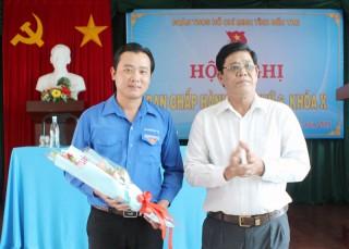 Anh Võ Tuấn Thông giữ chức vụ Phó bí thư Tỉnh Đoàn