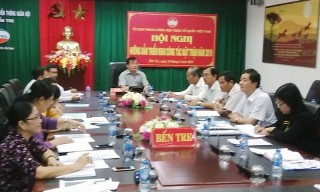 Mặt trận Trung ương tổ chức hội nghị trực tuyến triển khai công tác năm 2019