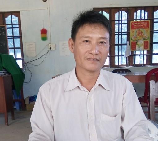 Tổ trưởng tích cực hưởng ứng phong trào xây dựng nông thôn mới