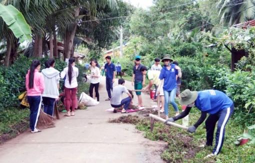 Huyện Đoàn Mỏ Cày Nam: Xây dựng phong trào cho thanh niên