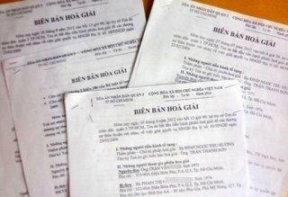 Hiệu lực pháp luật của biên bản hòa giải thành tại tòa án