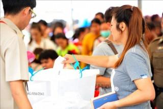 Tỷ lệ cử tri Thái Lan đi bỏ phiếu sớm đạt 75%