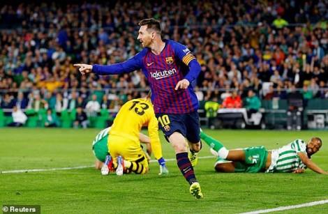 Vòng 28 La Liga: Barcelona chiến thắng đậm đà trên sân khách
