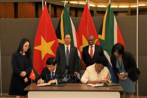 Nam Phi - Việt Nam cần nỗ lực đưa quan hệ thương mại song phương bền chặt, thực chất hơn