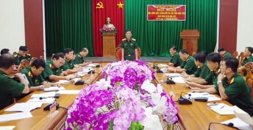 Hiệp đồng huấn luyện, kiểm tra sẵn sàng động viên Quân nhân dự bị năm 2019