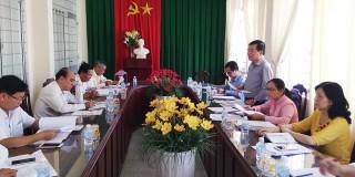 Kiểm tra công tác chuẩn bị Đại hội đại biểu MTTQ Việt Nam huyện điểm Ba Tri