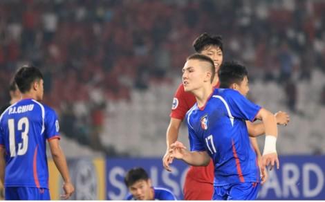 Myamar hòa Đài Loan 0-0