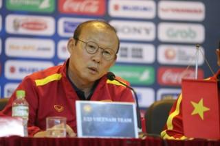 Họp báo trước trận đối đầu U23 Việt Nam và U23 Brunei