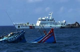 Phản đối việc tàu Trung Quốc xâm phạm chủ quyền, đe doạ tính mạng, gây thiệt hại cho ngư dân Việt Nam
