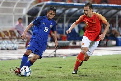 Thái Lan đánh bại Trung Quốc 1-0