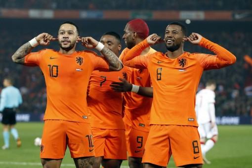Vòng loại Euro 2020: Hà Lan thắng đậm Belarus 3-0