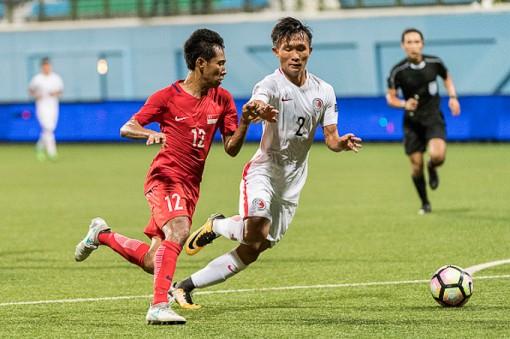 Vòng loại U23 châu Á 2020: U23 Hồng Kông và U23 Singapore chia điểm ở trận khai màn
