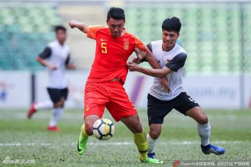 Vòng loại U23 châu Á 2020: U23 Trung Quốc thắng áp đảo U23 Lào