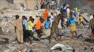 Nổ lớn liên tiếp tại thủ đô của Somalia