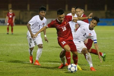 Giải U19 Quốc tế: U19 Việt Nam và U19 Thái Lan chia điểm