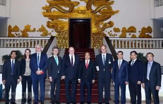 Thủ tướng Nguyễn Xuân Phúc đề nghị Đức đẩy mạnh hợp tác đầu tư