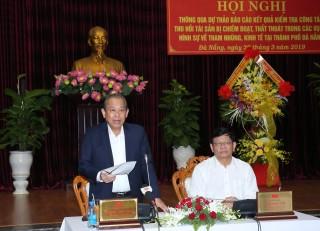 Thông qua dự thảo báo cáo kết quả kiểm tra đối với Thường vụ Thành ủy Đà Nẵng