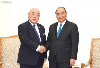 Thủ tướng tiếp Cố vấn Nội các đặc biệt của Thủ tướng Nhật Bản