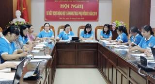 Hội Liên hiệp Phụ nữ tỉnh sơ kết quí I-2019