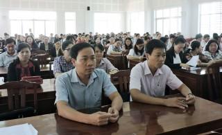 Tổ chức kỳ thi nâng ngạch công chức, thăng hạng viên chức hành chính của tỉnh