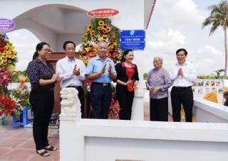 Khánh thành khu mộ tập thể 21 người ở xã Thạnh Hải