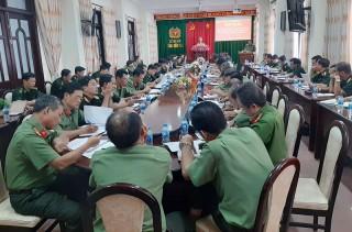 Công an, Quân sự và Biên phòng thực hiện tốt nhiệm vụ phối hợp