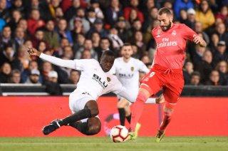 Real Madrid biết thất bại trước Valencia