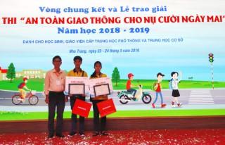 """Cuộc thi """"An toàn giao thông nụ cười ngày mai"""": Trịnh Nguyễn Tấn Phát đoạt giải nhất"""