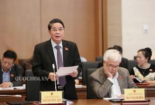 Hội nghị đại biểu Quốc hội hoạt động chuyên trách thảo luận về dự án Luật Đầu tư công (sửa đổi)