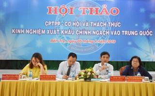 CPTPP - Cơ hội và thách thức, kinh nghiệm xuất khẩu chính ngạch vào Trung Quốc