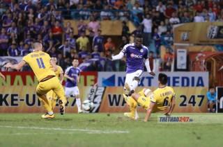 Vòng 4 V.League 2019: Hà Nội FC  thắng đậm  SLNA vươn lên ngôi đầu bảng