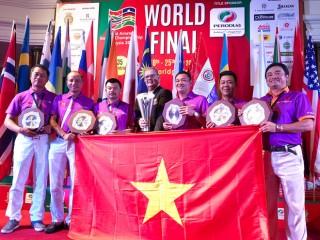 Đội tuyển Việt Nam vô địch giải Golf nghiệp dư thế giới 2017