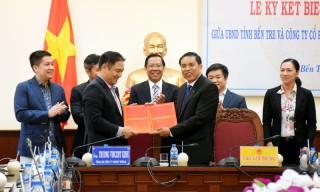 Ký kết hợp tác quy hoạch và phát triển toàn diện tỉnh Bến Tre