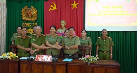 Hội nghị sơ kết giữa nhiệm kỳ Công đoàn Công an tỉnh