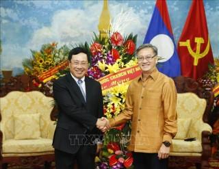Mối quan hệ đặc biệt Việt Nam - Lào ngày càng phát triển tốt đẹp