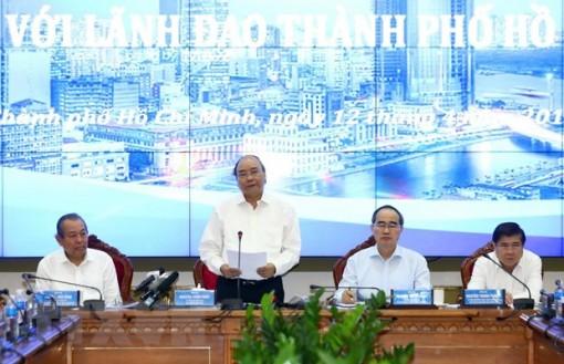 Thủ tướng: TP. Hồ Chí Minh phải luôn là địa phương tiên phong, dẫn đầu